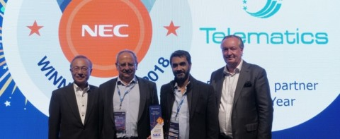 Telematics Achieve NEC EMEA New Partner of the Year Award