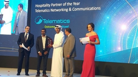 Telematics picks up trophy from Huawei